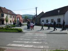 Pietní akce u pomníku padlých -1. 5. 2014