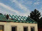 Oprava kulturního domu v Pitíně