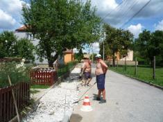 Rekonstrukce chodníků