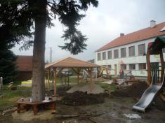 Dětské hřiště v mateřské škole