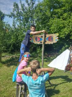 Letní tábor při obci - 8.-12.8.2016