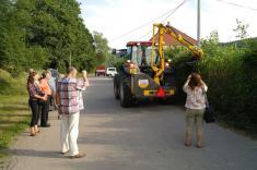 Oranžová stuha 2012 - návštěva hodnotící komise