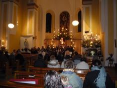 Vánoční besídka v kostele sv. Stanislava - 25. 12. 2013