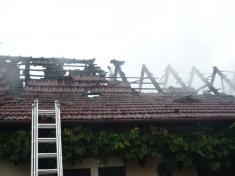 Požár  U Šléglů - 19. 9. 2013