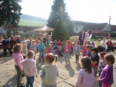 Zábavné odpoledne pro děti v mateřské škole - 3. 10. 2014